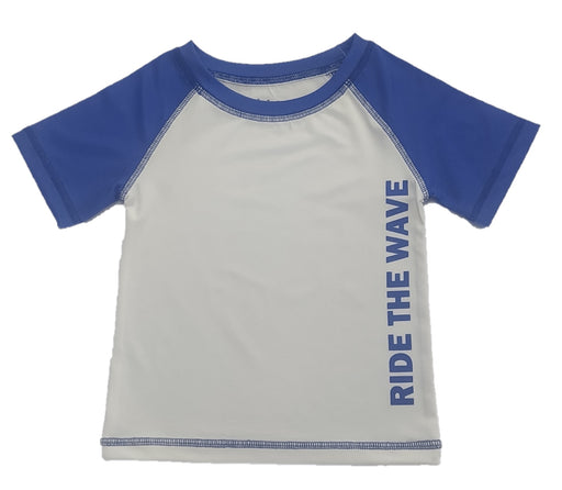 NEW! Rash Guard - Ride the Wave (4739975741515)