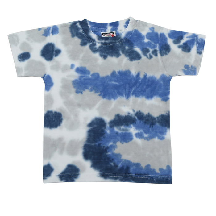 NEW! Tie dye T-Shirt - navy and heather (6551787307083)