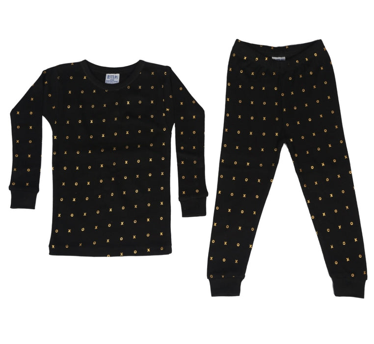 Pajamas - XOXO - Gold Foil