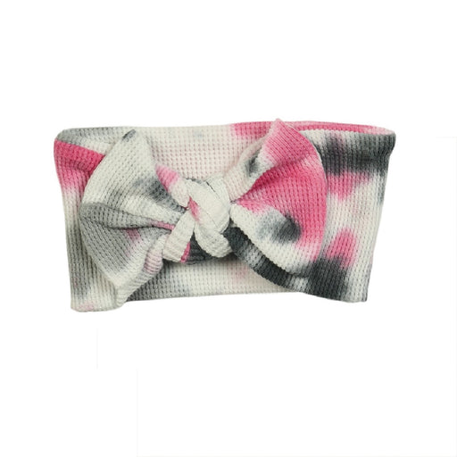 NEW FW20 Little Mish Thermal Headband - Pink Tie Dye (4653736493131)