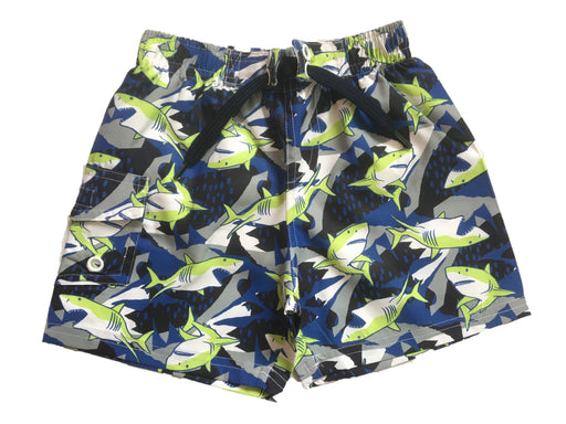 NEW! Swim Board Shorts - Sharks (4739760619595)