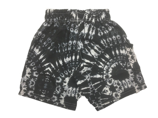 NEW! Swim Board Shorts - Black & White Tie Die (4739770548299)