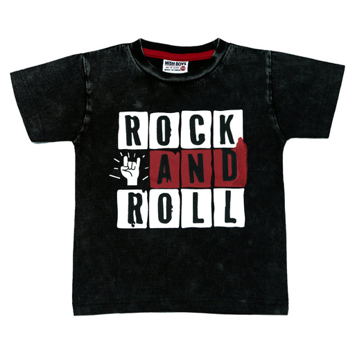 NEW! T-Shirt - Rock and Roll (4738846916683)