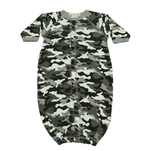 NEW FW20 Little Mish Thermal Converter Gown - Black Camo (4653797048395)
