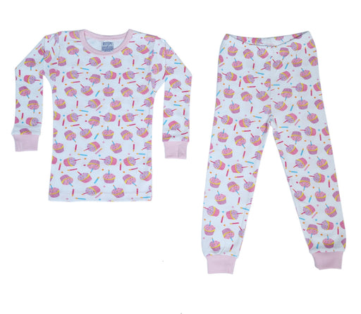 New BSteps Pajamas - Birthday Cupcakes (4692136525899)