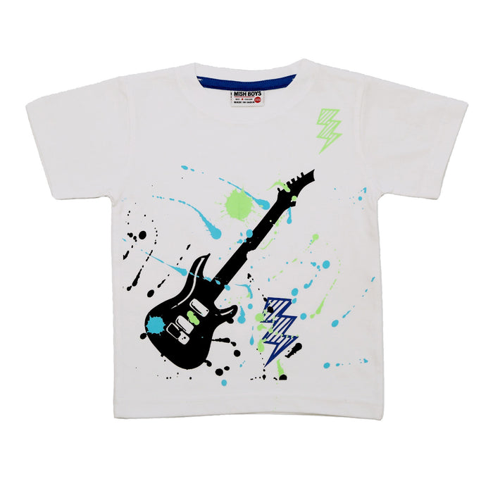 NEW! T-Shirt - Splatter Guitar (4738842755147)