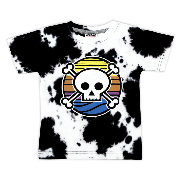 NEW! T-Shirt - Sunset Skull (4738119860299)