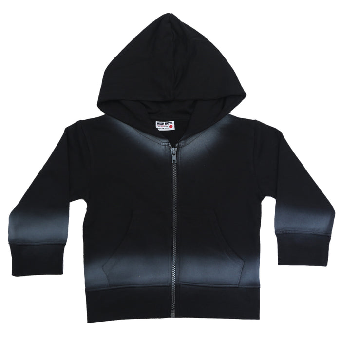NEW Ombré Hoody - Black (4665135366219)