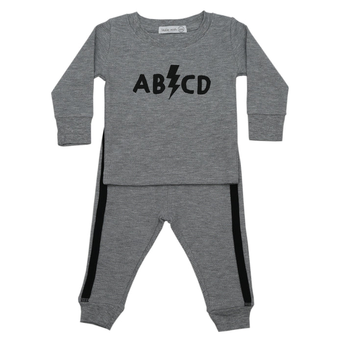 NEW FW20 Little Mish Thermal Pants Set - ABCD (4657156423755)