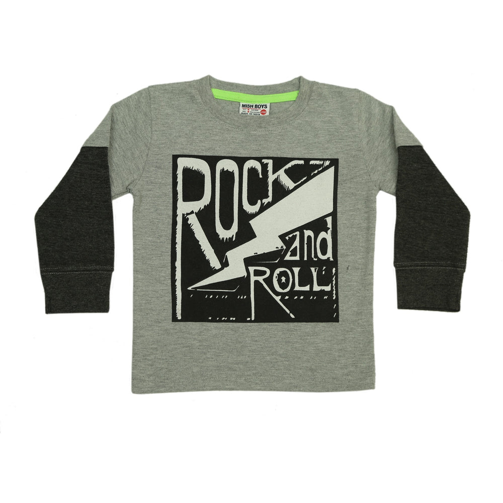 NEW Long Sleeve Shirt - Rock & Roll (4662783082571)