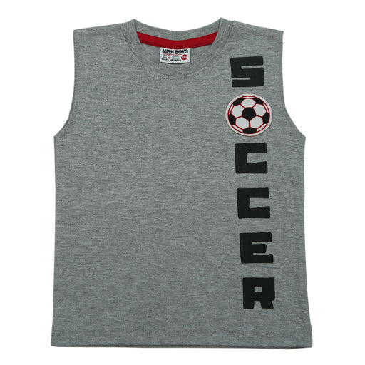 NEW! Muscle Shirt - Soccer (4738864185419)