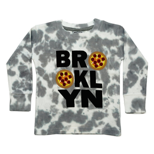 NEW Long Sleeve Thermal Shirt - Brooklyn Pizza (4659127517259)