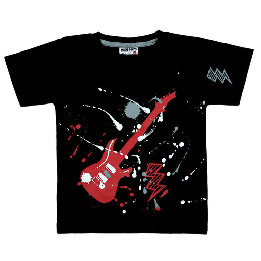 NEW! T-Shirt - Splatter Guitar (4738843541579)