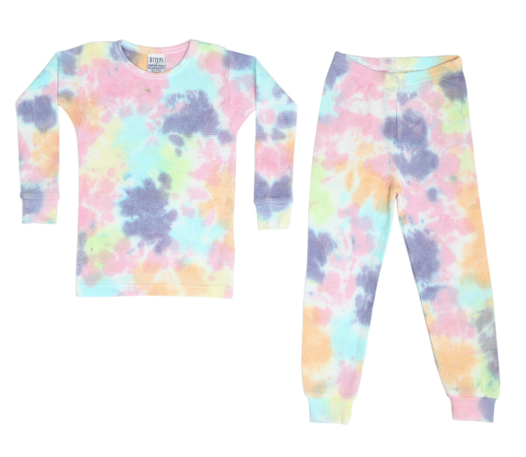 Thermal Tie Dye Pajamas - Izzy (4092388900939)