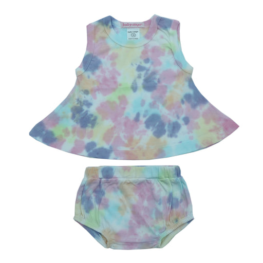 NEW Baby Steps Tie Dye Swing Top and Diaper Cover Set - Izzy (4724031979595)
