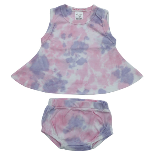 NEW Baby Steps Tie Dye Swing Top and Diaper Cover Set - Matilda (4724026736715)