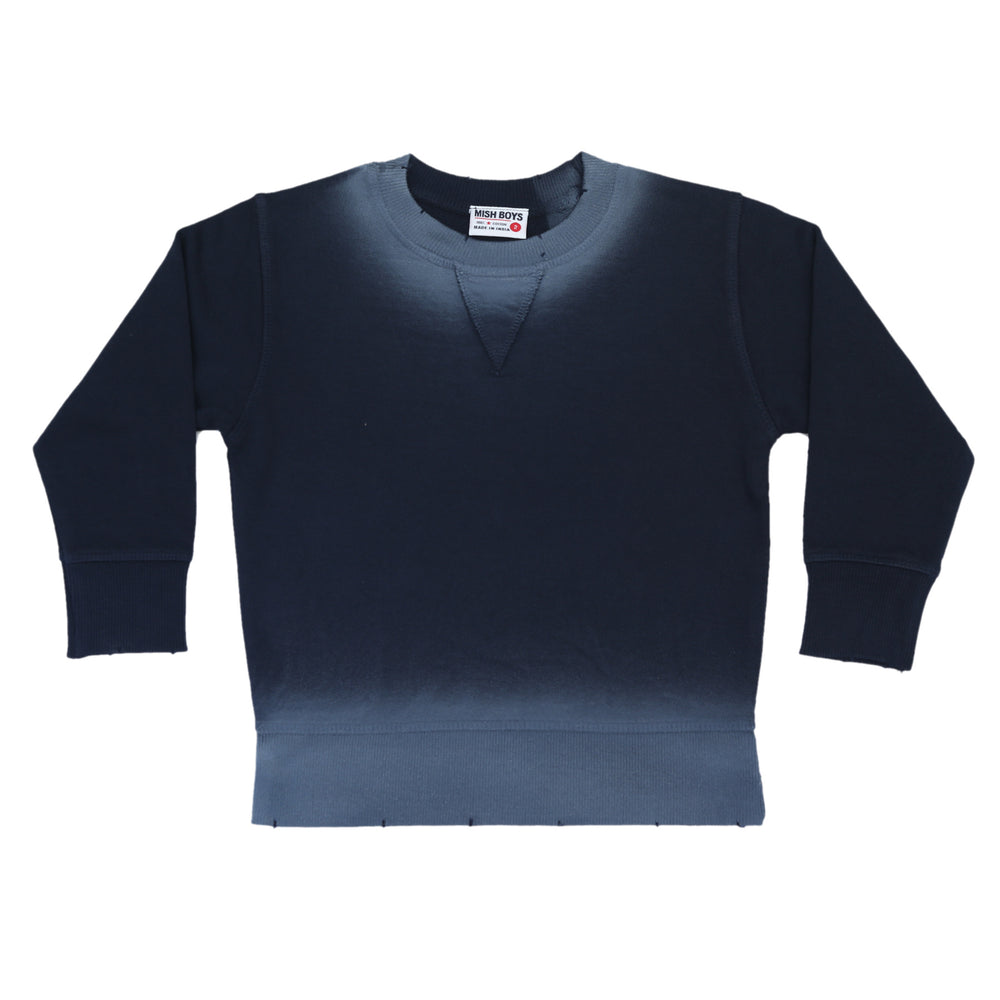 NEW Ombré Sweatshirt - Navy (4664203116619)