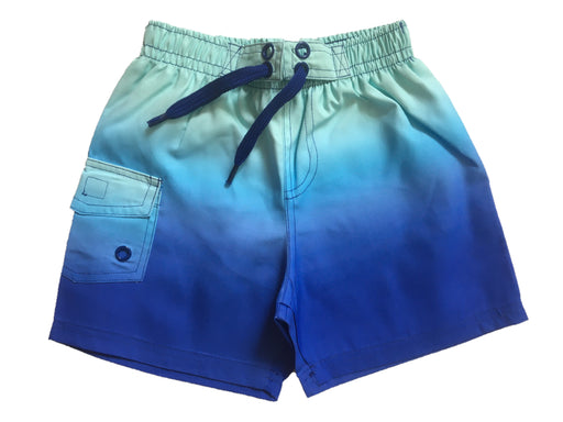 NEW! Swim Board Shorts - Aqua Cobalt Ombre (4739754655819)