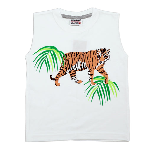 NEW! Muscle Shirt - Tiger (4738881781835)