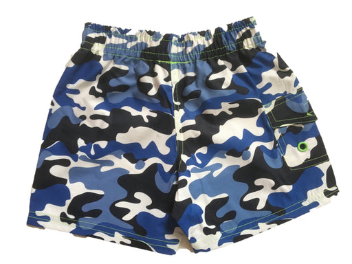 NEW! Swim Board Shorts - Navy Camo With Stars (4739751805003)