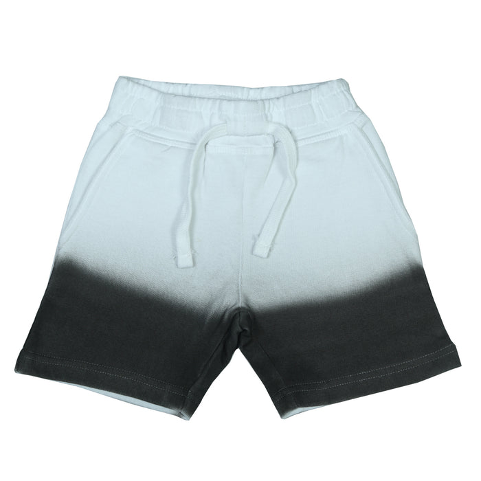 NEW! Ombre Shorts- White and Black (6552151097419)