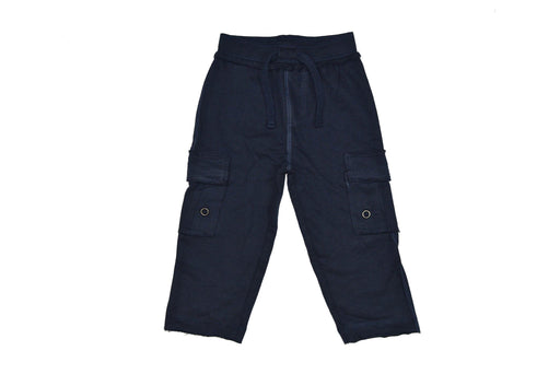 Knit Cargo Pants - Navy