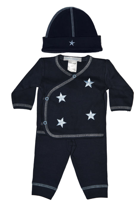 Take Me Home - Navy - Baby Blue Stars (1316928159819)