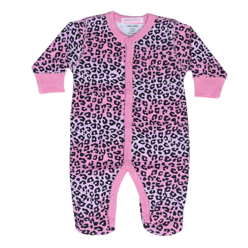 NEW! Footie - Ombre Cheetah **100% organic cotton** (4697610387531)