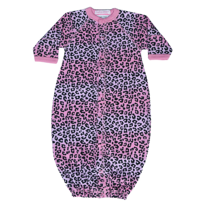New Baby Steps Converter Gown - Ombre Cheetah (4698106462283)