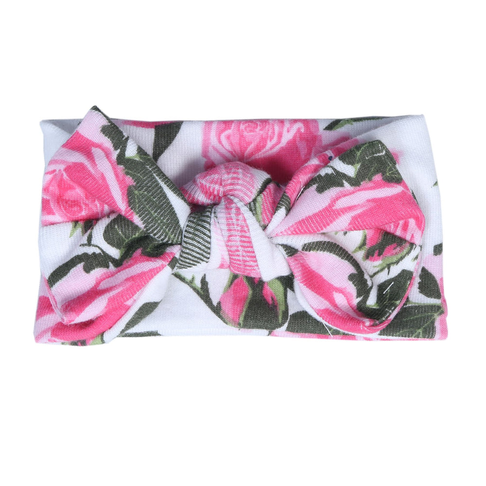 New Baby Steps Headband- Roses (4698112032843)