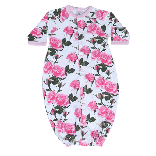 New Baby Steps Converter Gown- Roses (4698105610315)