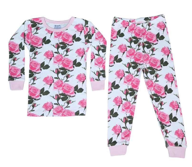 New BSteps Pajamas- Roses (4693532442699)