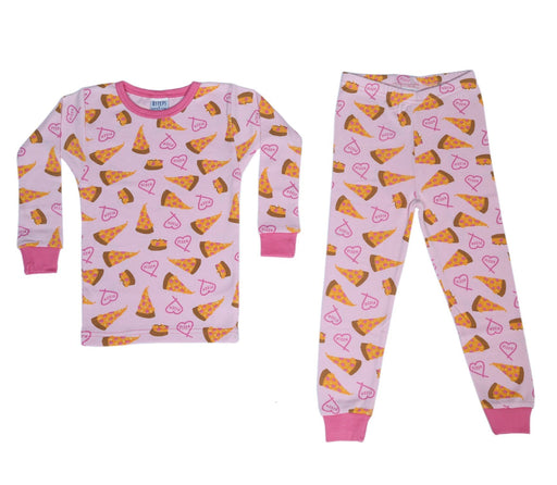Pajamas - Pizza Love *100% organic cotton* (4692054310987)