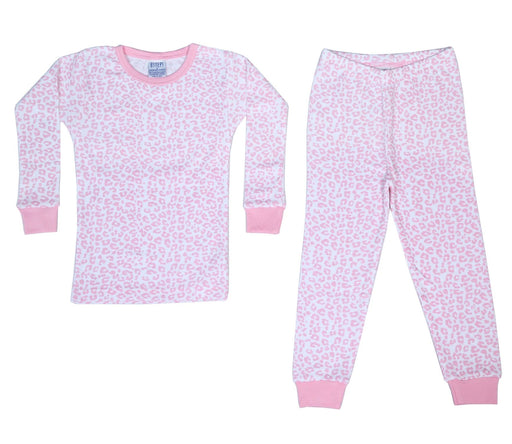 New BSteps Pajamas - Pink Cheetah (4693540700235)