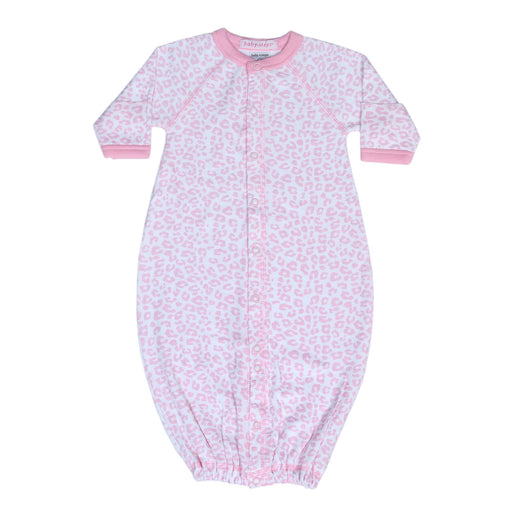 New Baby Steps Converter Gown - Pink Cheetah (4698106232907)