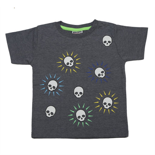 NEW! T-Shirt - Spikey Skulls (4738118877259)