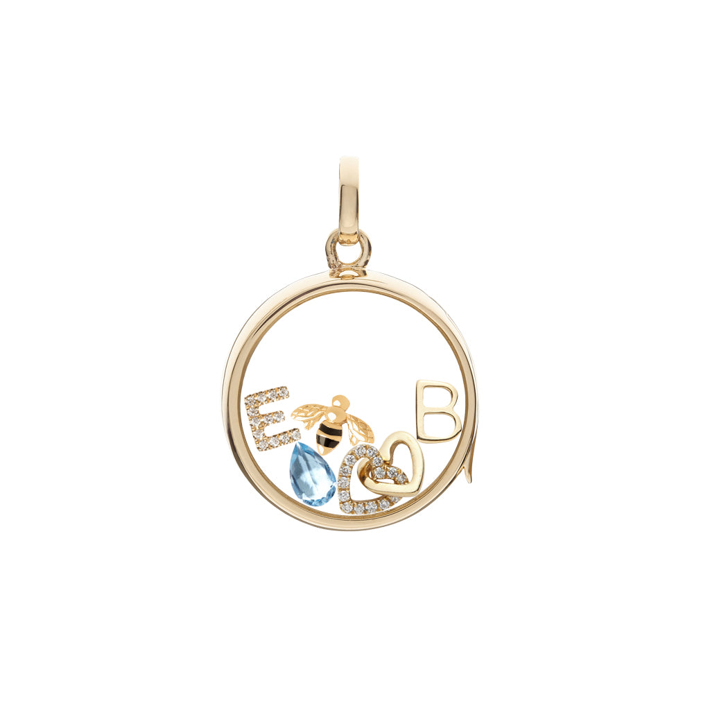 Loquet Bee, Sweet Like Honey Charm - Charms & Pendants - Broken English Jewelry