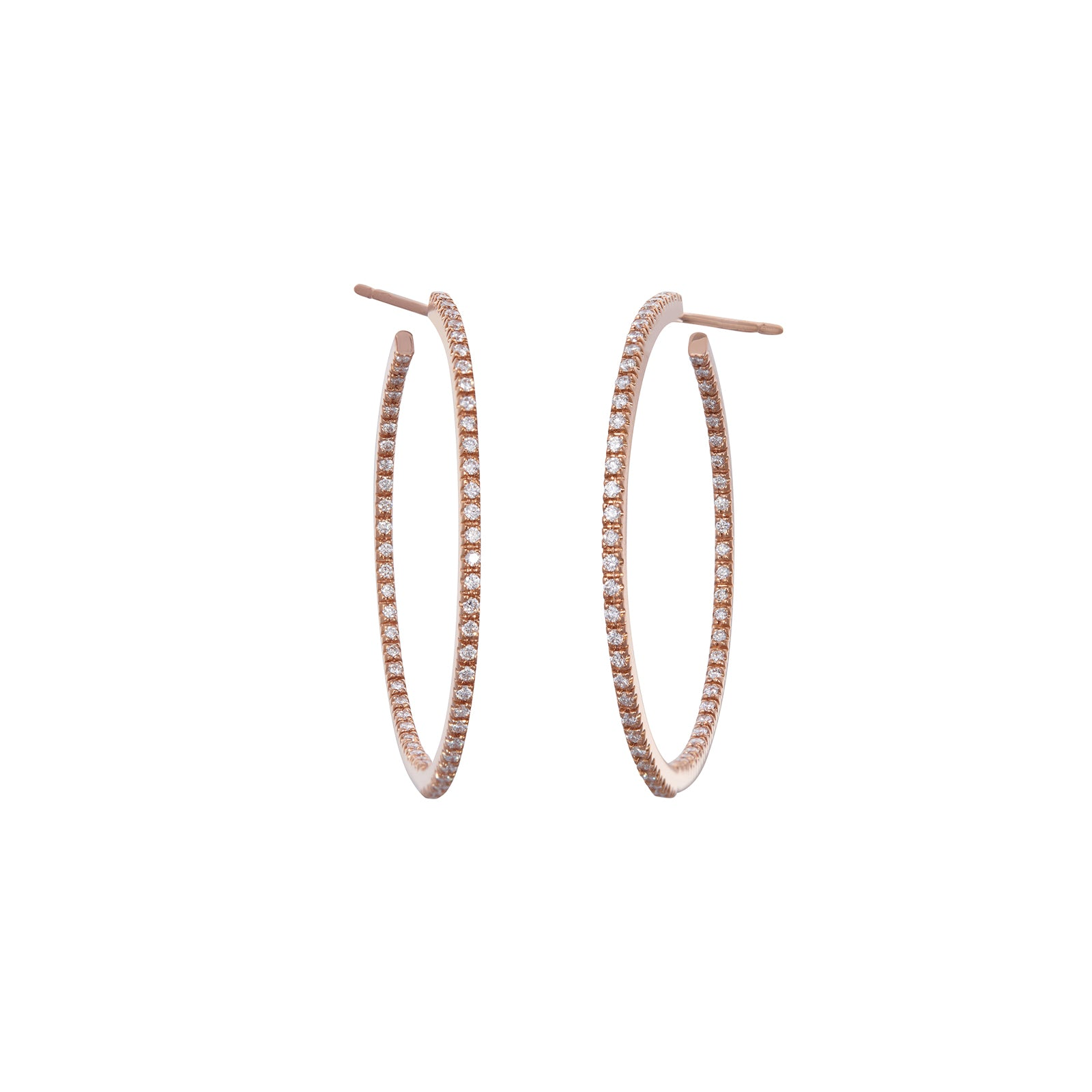 Sidney Garber Perfect Small Hoops - Rose Gold - Earrings - Broken English Jewelry