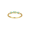 WWAKE Opal & Diamond Demi-Paired Ring - Rings - Broken English Jewelry