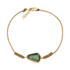 Celine Daoust Maya Rope Bracelet - Tourmaline - Bracelets - Broken English Jewelry