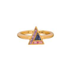 GeoArt Trillion Puzzle Ring by Kavant & Sharart for Broken English Jewelry