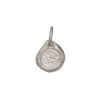 Silver Forget Me Not Charm by James Colarusso for Broken English Jewelry