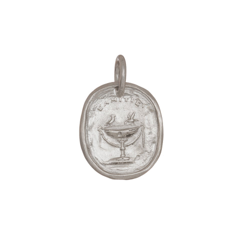 SS L'amite Pendant by James Colarusso for Broken English Jewelry