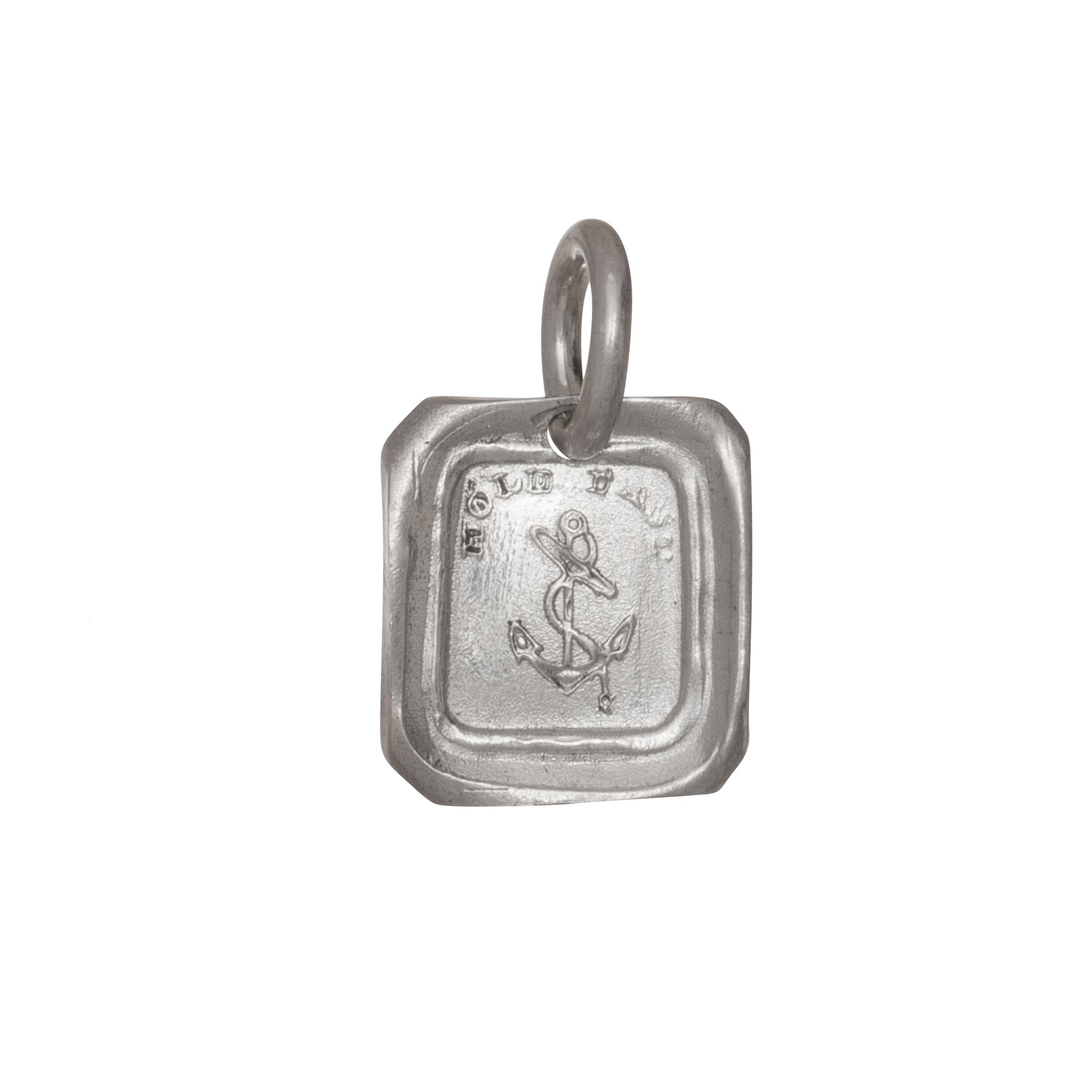 Silver Hold Fast Intaglio by James Colarusso for Broken English Jewelry