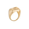 Nada Ghazal Baby Malak Rectangle Ring - Gold - Rings - Broken English Jewelry