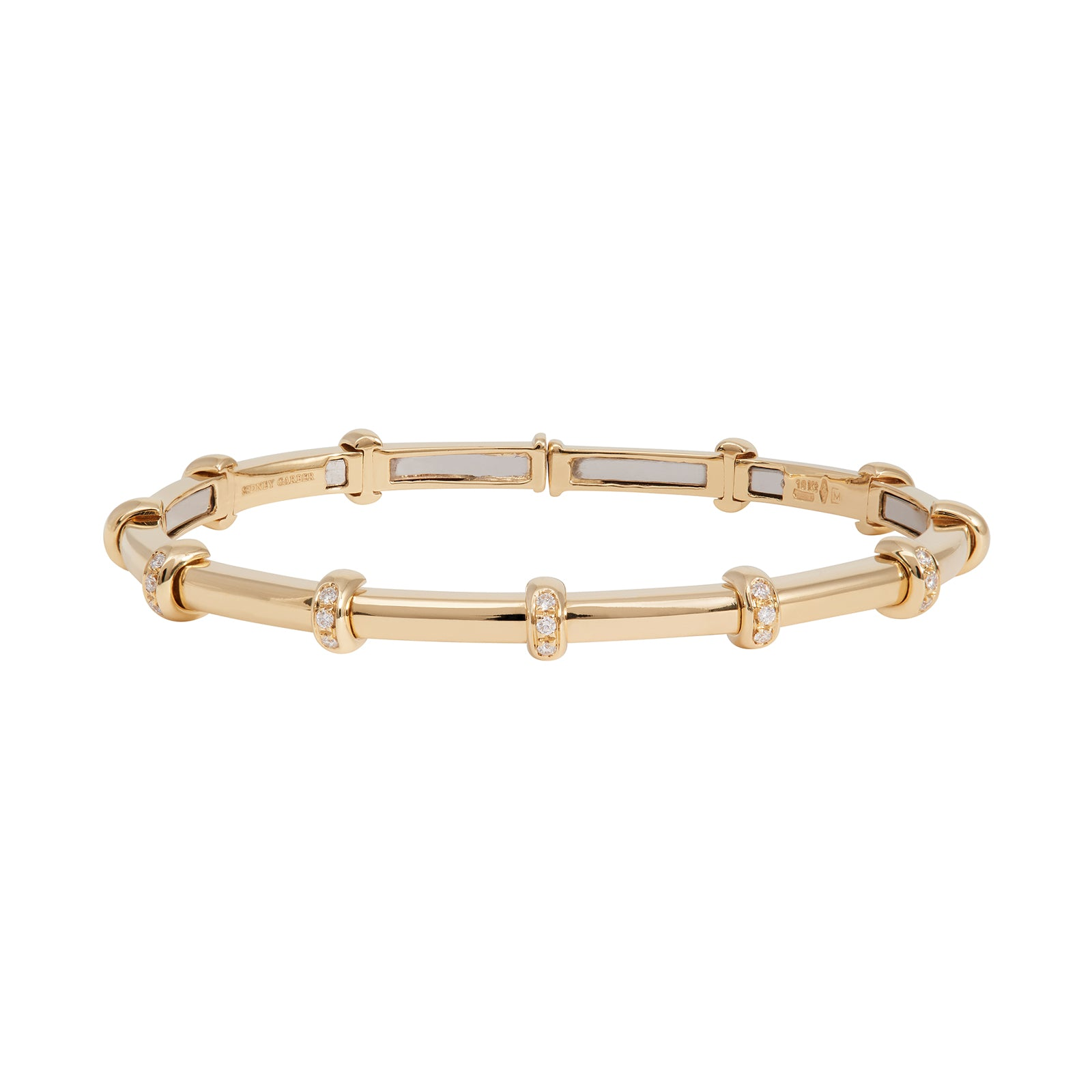 Sidney Garber Carly Bracelet - Yellow Gold - Bracelets - Broken English Jewelry