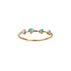 WWAKE Four-Step Opal Ring - Rings - Broken English Jewelry