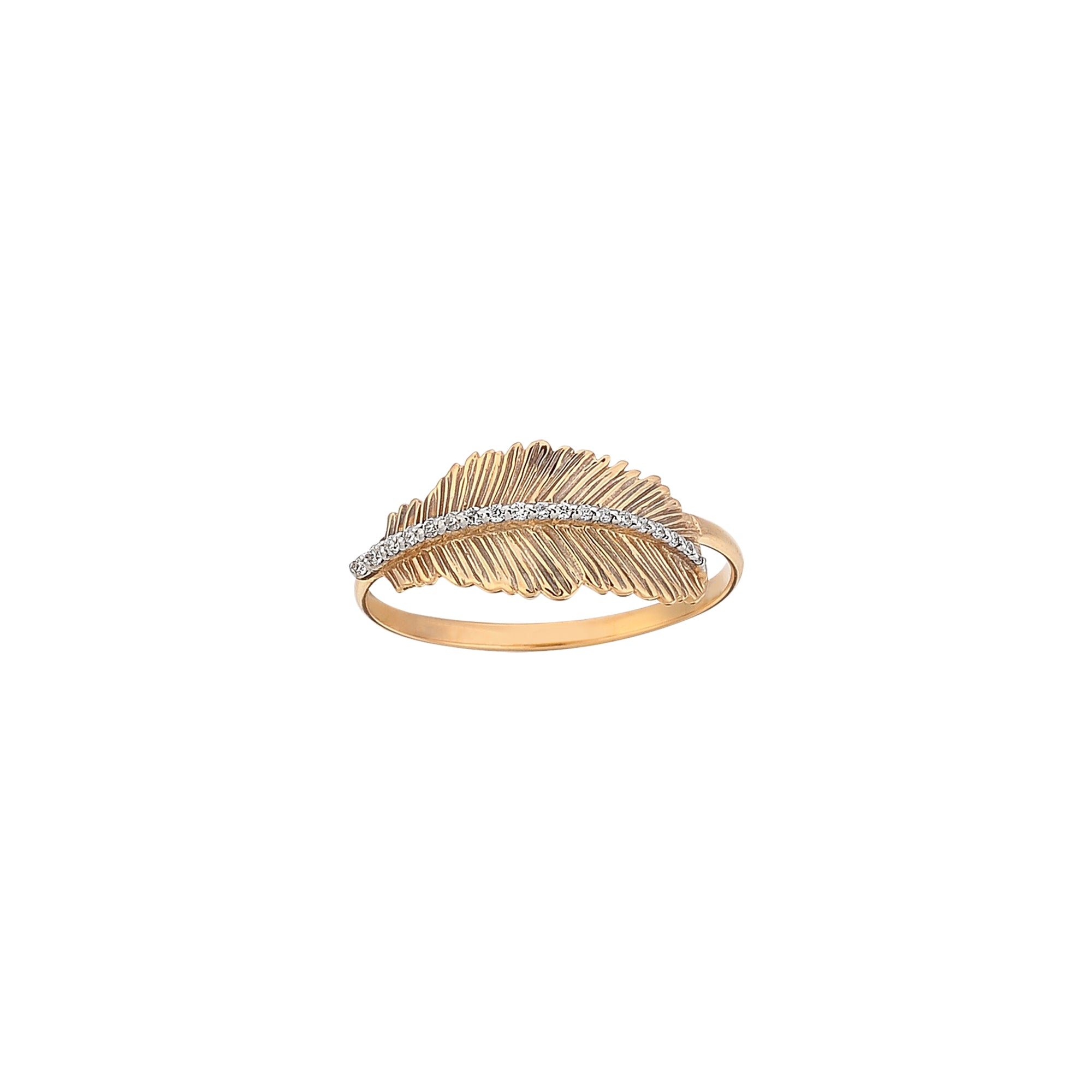 Raven Feather Diamond Ring - Kismet by Milka - Rings | Broken English JewelryRaven Feather Diamond Ring - Kismet by Milka - Rings | Broken English Jewelry