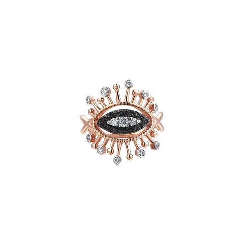 10th Small Eye Eternal Vision Ring - Kismet by Milka - Rings | Broken English Jewelry