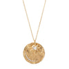 Celine Daoust Sun & Moon Charms Medal Necklace - Necklaces - Broken English Jewelry